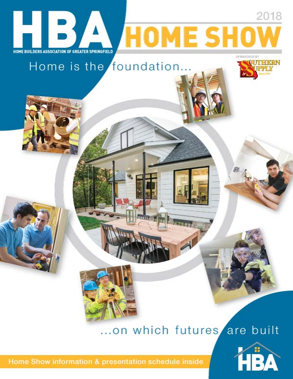HBA Home Show Magazine Cover 2018