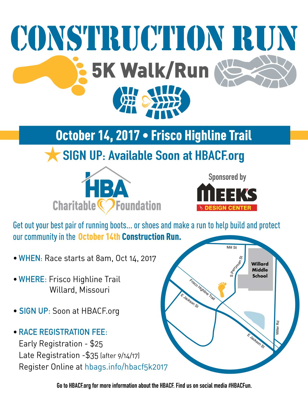 HBACF Construction Run 2017