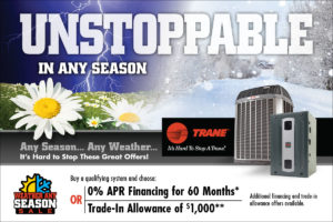Trane's Spring Air Conditioning Promotion