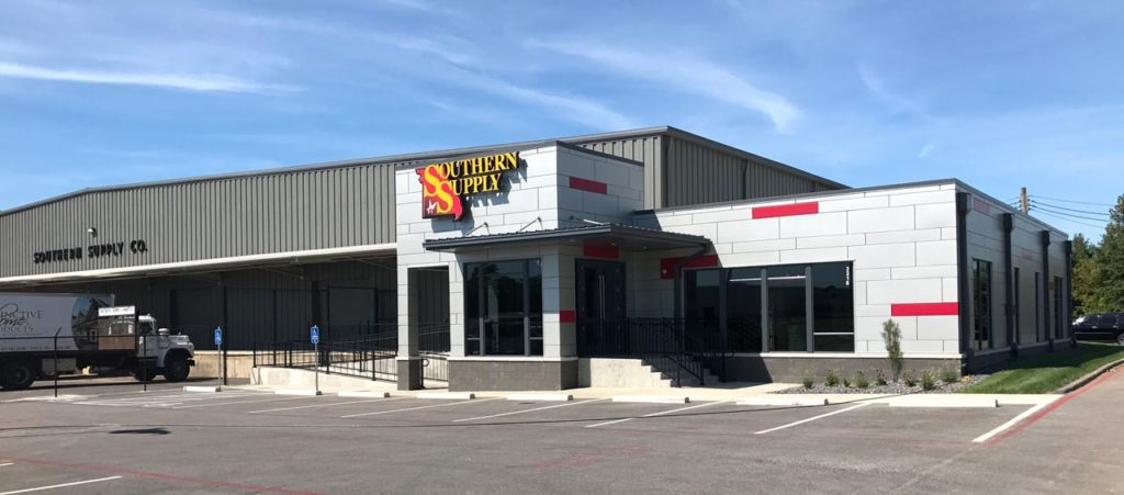 Southern Supply Showroom Exterior