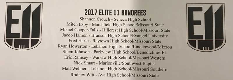 Matt Wehner 2017 Elite 11 Honorees