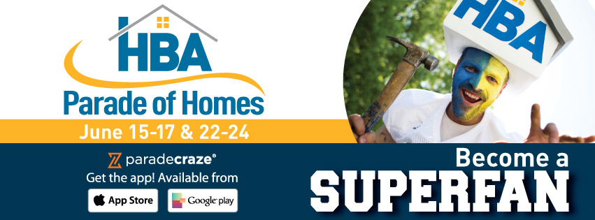 HBA Parade of Homes Superfan white