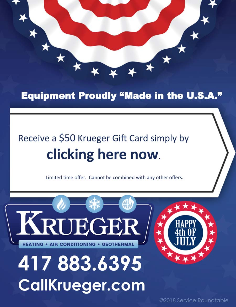 Get Your Krueger $50 Gift Card!