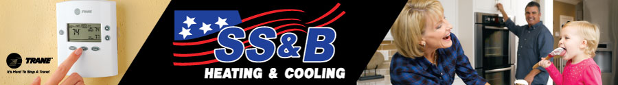SS&B Heating & Air Conditioning Parade Banner