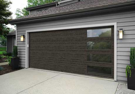 New Slate Finish For Garage Doors Brookline Doorworks