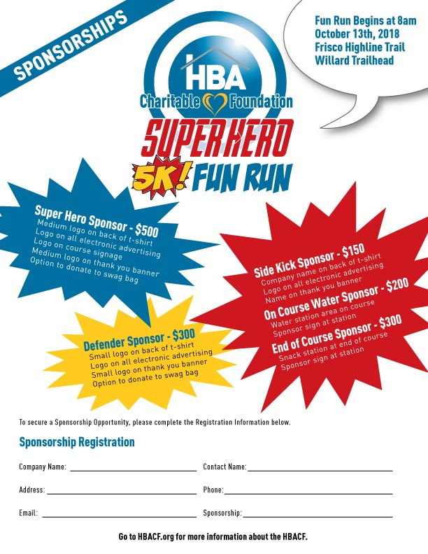HBACF Super Hero 5K Fun Run