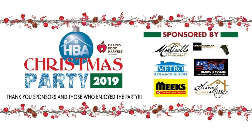 HBA Christmas Party 2019 - Meek's, Metro, Monticello, Travis Miller, SS&B, Great American