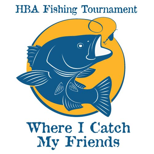 HBA Fishing Tournament 2020 with slogan