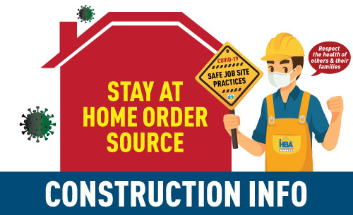 Stay at Home Order - Construction Info Source