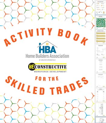 Kids Construction Activity Workbook