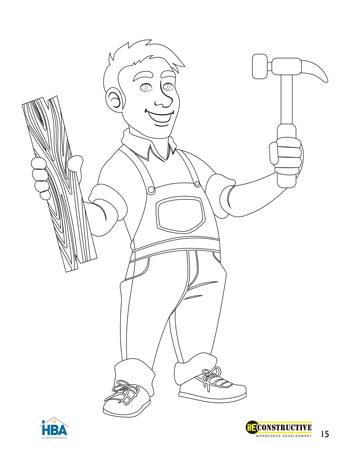 Kids Home Pro Coloring Page