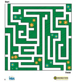 HBA Activity Book Maze Page 6