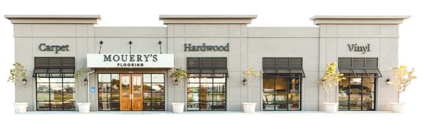 Mouery's Flooring Store Front