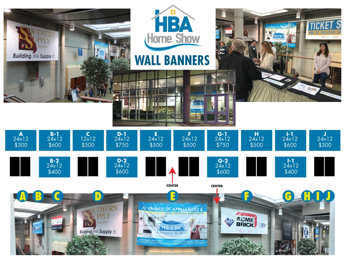 Home Show Banner Layout